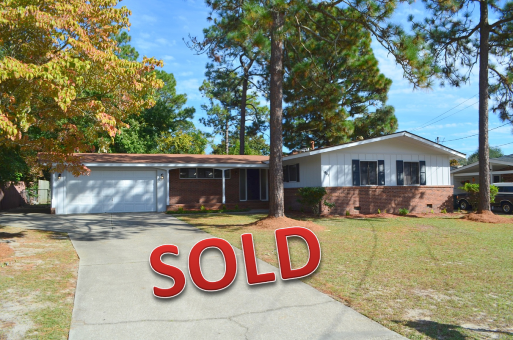 1907 Martindale, Fayetteville, NC - sold on January 5, 2015